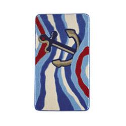 Confetti Anchor Banyo Halısı Mavi - 100x160 cm