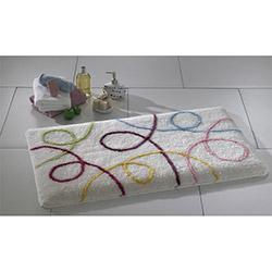 Confetti İpsos Banyo Halısı Karbeyaz - 55x60 cm