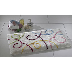 Confetti İpsos Banyo Halısı Karbeyaz - 70x120 cm