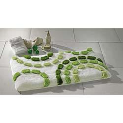 Confetti Arinna Banyo Halısı Yeşil - 55x60 cm