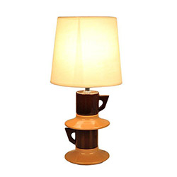 Rayman Masa Lambası - Kahve