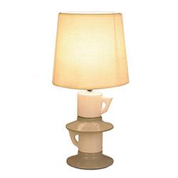 Rayman Masa Lambası - Beyaz