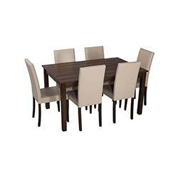Sepia Eko Sandalye Masa Takımı (90x140 cm) - Ceviz / Krem