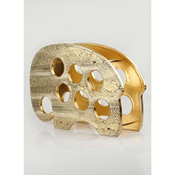 Hera Deri Gold Snake Şaraplık Fil (OK-5760-659)