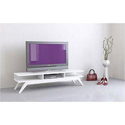 Retro Tv Sehpası - Beyaz