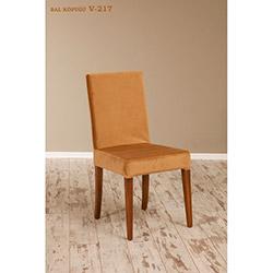 Helen V-217 Sandalye - Ceviz / Bal Köpüğü