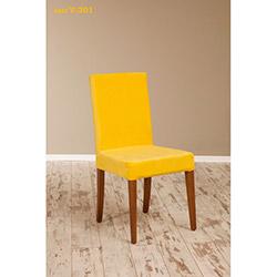 Helen V-201 Sandalye - Ceviz / Sarı