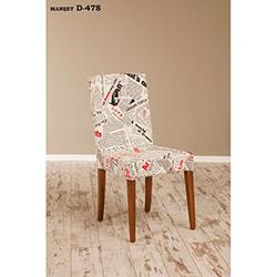 Helen D-478 Sandalye - Ceviz / Manşet