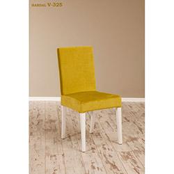 Helen V-325 Sandalye - Beyaz / Hardal