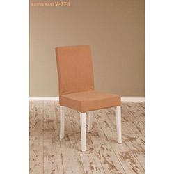 Helen V-378 Sandalye - Beyaz / Kahve Haki