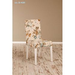 Helen D-420 Sandalye - Beyaz / Gül