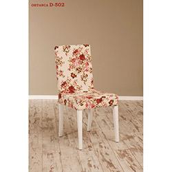 Helen D-502 Sandalye - Beyaz / Ortanca