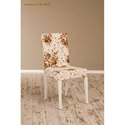 Helen D-463 Sandalye - Beyaz / Tomurcuk