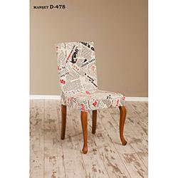 Simay D-478 Sandalye - Ceviz / Manşet