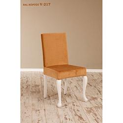 Simay V-217 Sandalye - Beyaz / Bal Köpüğü