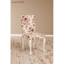 Simay D-512 Sandalye - Beyaz / Ortanca