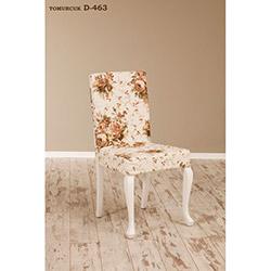 Simay D-463 Sandalye - Beyaz / Tomurcuk