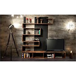New Arda Tv Ünitesi - Ceviz / Siyah