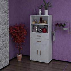 Sanal Mobilya Sorrento 018 Çok Amaçlı Mutfak Dolabı - Beyaz