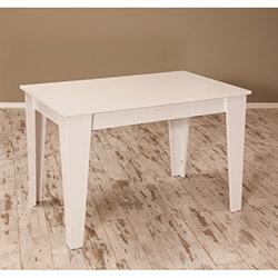 Sanal Mobilya Star Mutfak Masası - Parlak Beyaz
