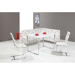 Hernema Polo Masa ve Sandalye Takımı - Beyaz