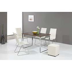 Hernema Premium Masa ve Sandalye Takımı - Antik Dark