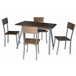 Hernema Masa ve Sandalye Takımı - Meşe