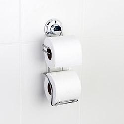 Tekno-Tel DM282 Vakumlu Tuvalet Kağıtlığı - Yedekli