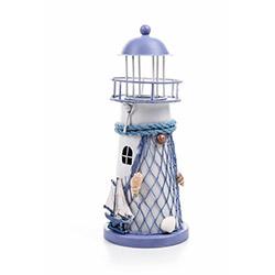 DecoTown Metal Deniz Feneri Mumluk
