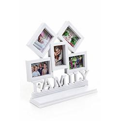 DecoTown Family 5'li Plastik Fotoğraf Çerçevesi