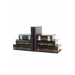 DecoTown Ahşap Kitap Tutucu ve Saklama Kutusu