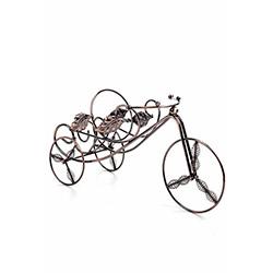 DecoTown Bisiklet Yaprak Metal Şarap Standı