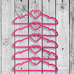 Secret 5'li Kalpli Askı - Pembe