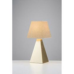 Avonni Tuğba Masa Lambası - Sarı / Bej