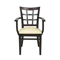 Ünal İş Lora Kollu Sandalye - Wenge