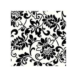 Gekkofix Yapışkanlı Folyo - Miras Siyah Beyaz