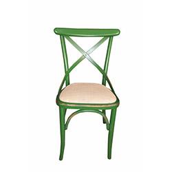 Albero Home 2'li Eskitilmiş Hasırlı Sandalye