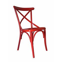 Albero Home Thonet Sandalye - Kırmızı
