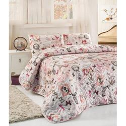 Eponj Home Madame Çift Kişilik Yatak Örtüsü Takımı - Pembe
