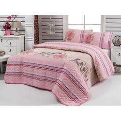 Eponj Home Ep-006683 Bukle Çift Kişilik Yatak Örtüsü Takımı - Somon