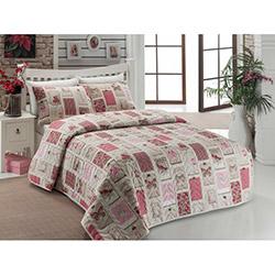 Eponj Home Ep-006406 Ekol Çift Kişilik Yatak Örtüsü Takımı - Gülkurusu