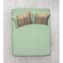 Evim Home Tek Kişilik Lastikli Çarşaf Seti - Gemeos Yeşil