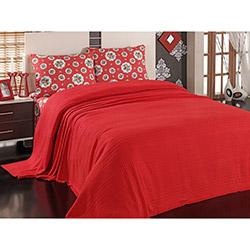 Eponj Home Romantique Çift Kişilik Pike Takımı - Kırmızı