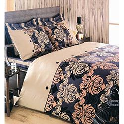 Eponj Home Ep-004753 Esta Çift Kişilik Nevresim Takımı - Kahverengi