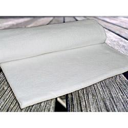 İpek Antilop Baskı Desen Polar Battaniye - Ekru