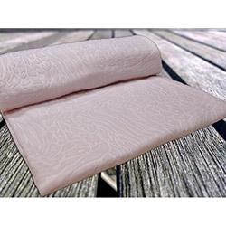İpek Antilop Baskı Desen Polar Battaniye - Toz Pembe