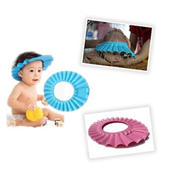 Patrix Baby Mate Bebek Banyo Şapkası - Pembe