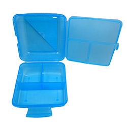 Patrix Lunch Box Pratik Beslenme Kutusu - Mavi - Asorti