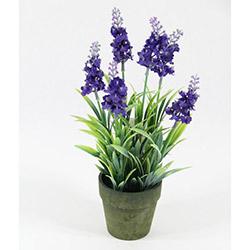 DesenHome Xd13-233 Lavanta Pot Yapay Çiçek - Mor