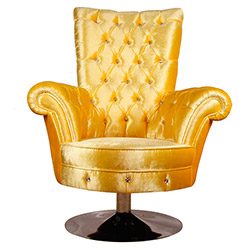 3A Mobilya Yellow Queen Koltuk